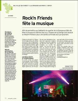 Rocknfriends METZ Mag' Juin 2013