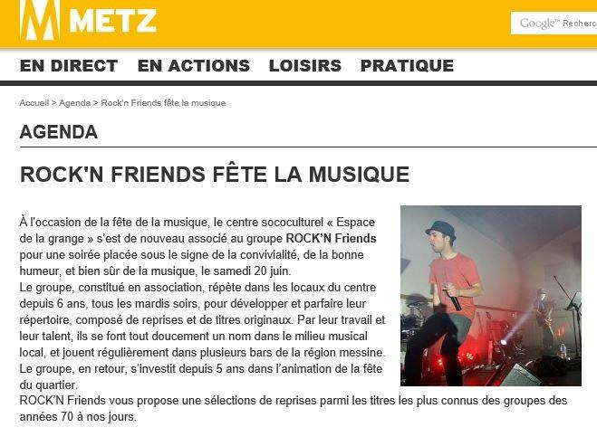 Agenda - Metz
