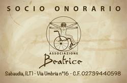 """Biglietto da visita """"Beatrice"""""""
