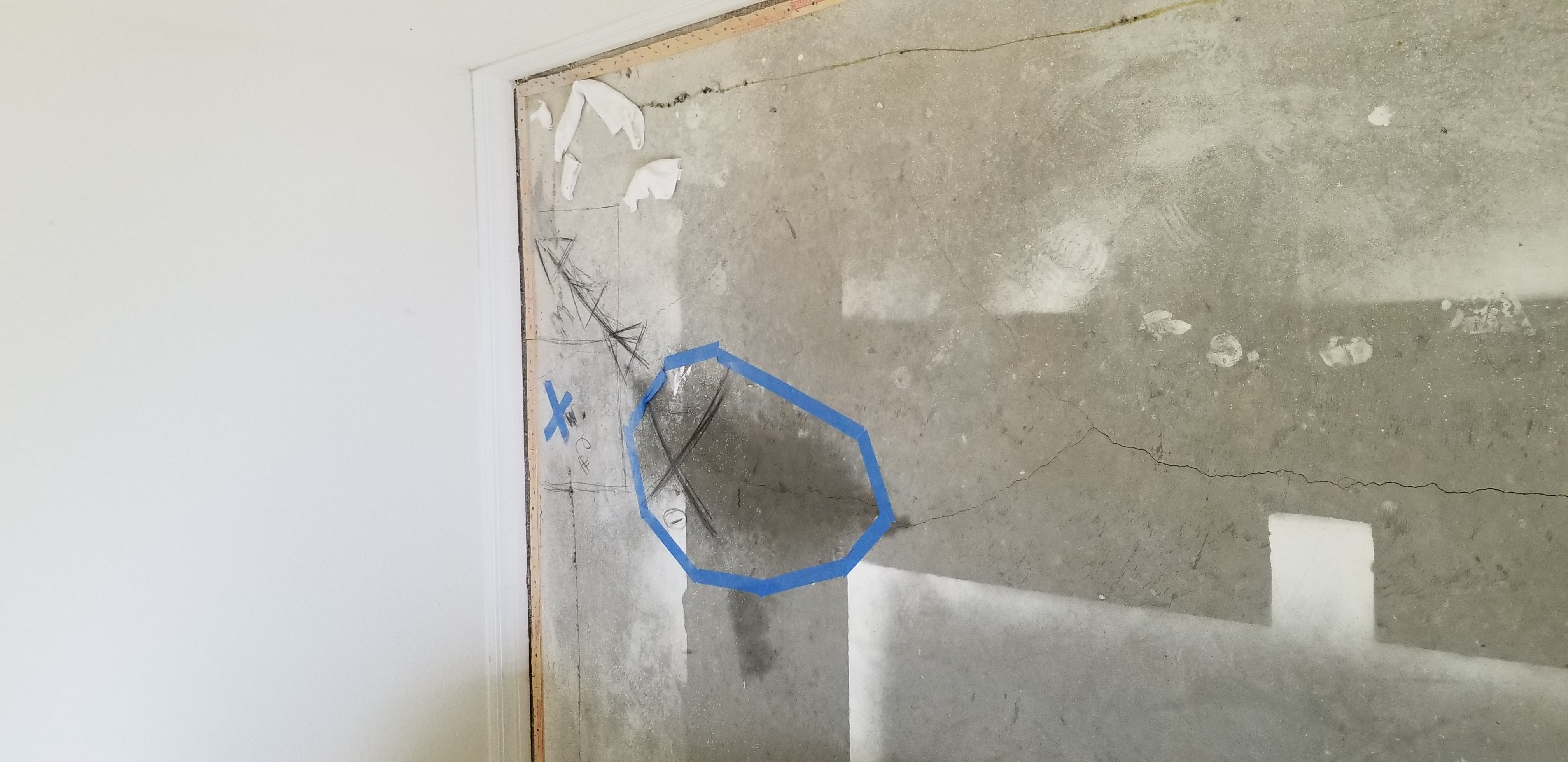 Slab leak detection