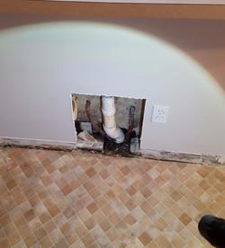 Drain Leak. The water leak detectors, leak detection, leak detection company, leak detection near me