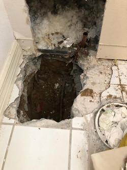 Slab leak detection. The water leak detectors, leak detection, leak detection company, leak detectio