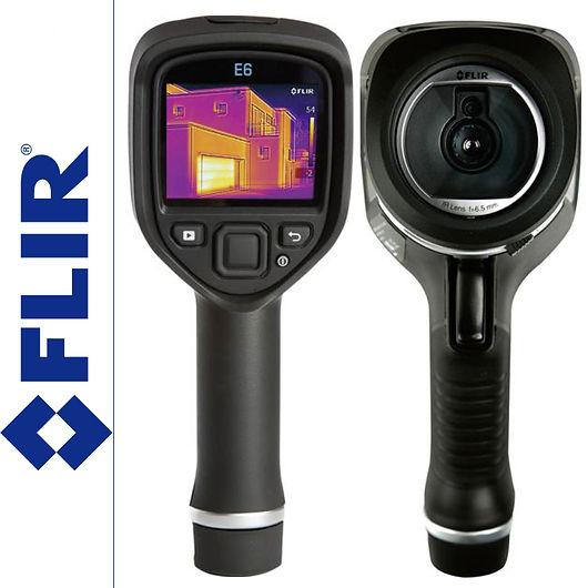 Thermal Imaging Camera Flir E6. The water leak detectors, leak detection, leak detection company, leak detection near me, leak detection services, plumbing leak detection, slab leak detection, water leak detection.