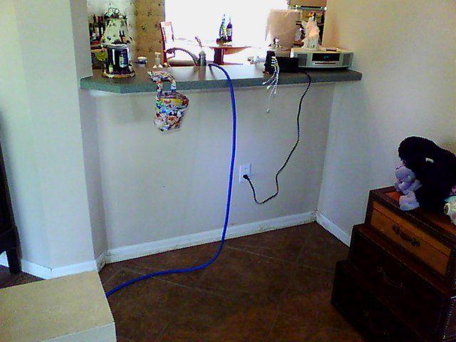 Wet wall Leak Detection