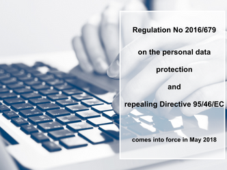 Revolution on Personal Data Protection – New Regulation No 2016/679