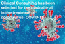 Clinical Consulting has been selected for the clinical trial in the treatment of coronavirus  COVID-