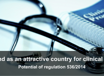 Poland - an attractive area for clinical trials. Potential of regulation 536/2014.