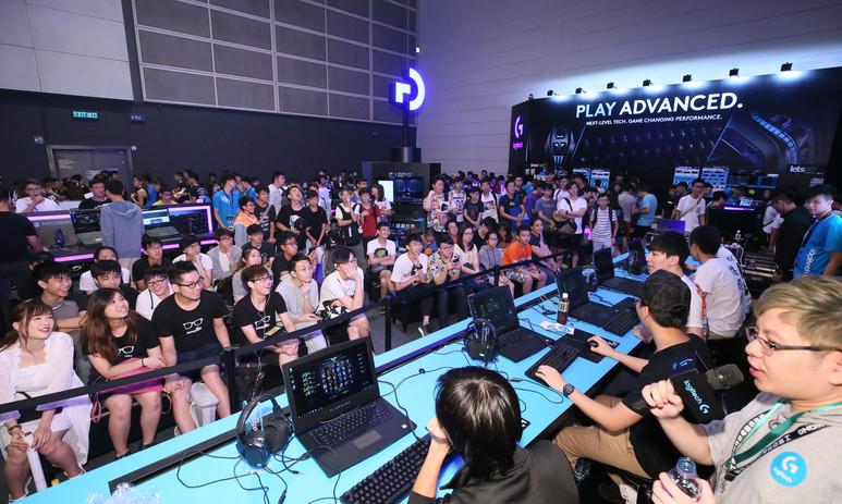 香港電競節展位