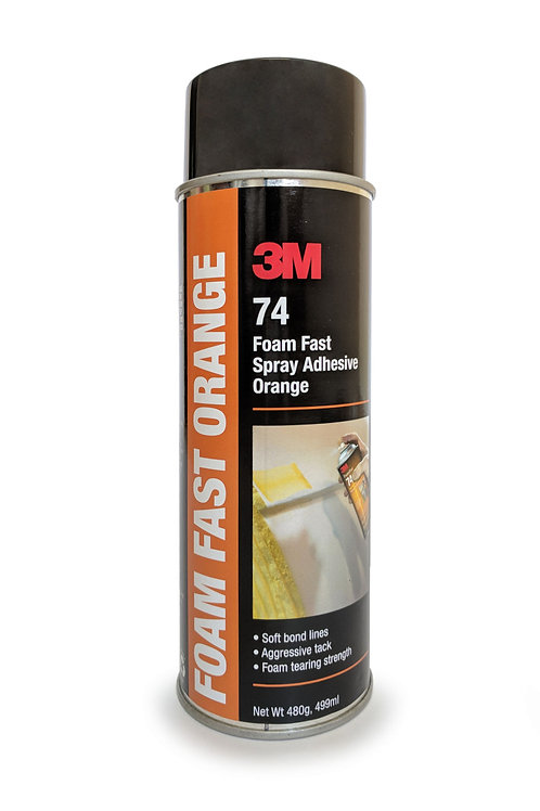 3M Foam Fast Adhesive Spray Orange