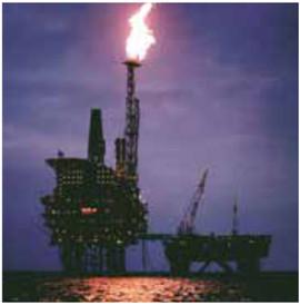 Pyro MI oil rig