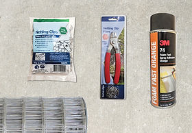 Installation accessories banner for tile