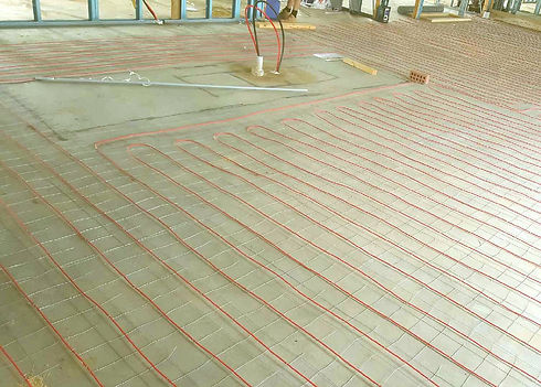In Screed Undertile Heating Floor Heating Systems