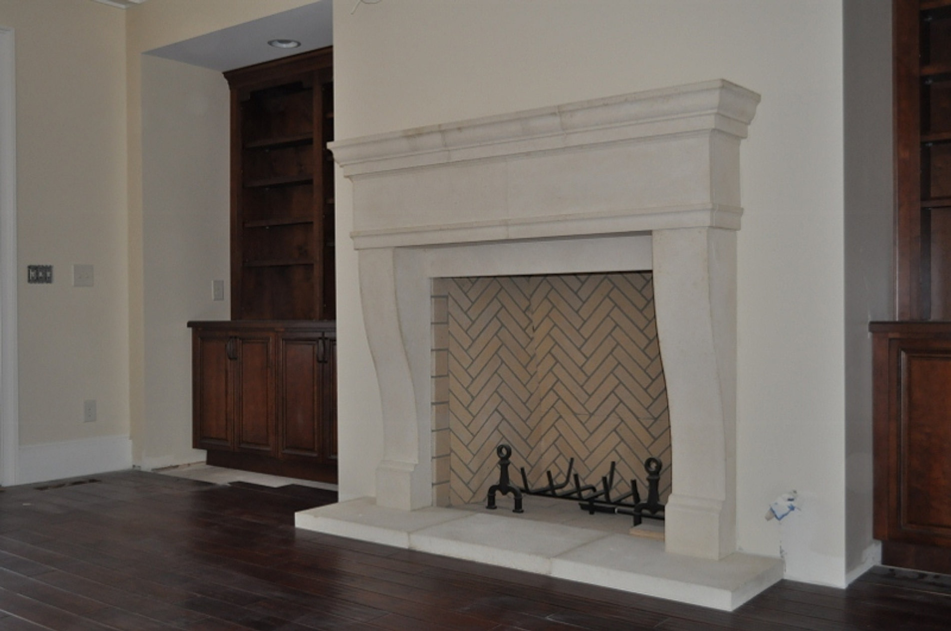 Cast Limestone Surrounds - Cast Stone Hoods And Limestone Fireplace Custom Products