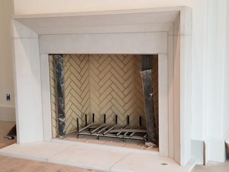 Perks of a Limestone Fireplace