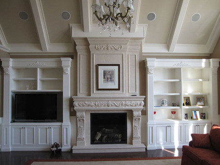 Ignite your home's resale value with the best Cast Stone Fireplace Mantel