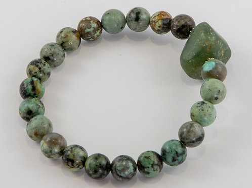 Single African Turquoise