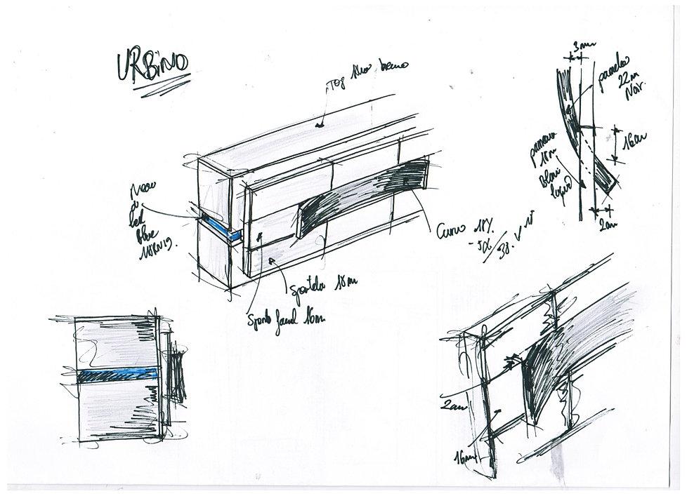 Albea mobili design eng for Copie mobili design