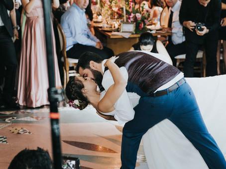 Dúvidas sobre a primeira dança do casamento!