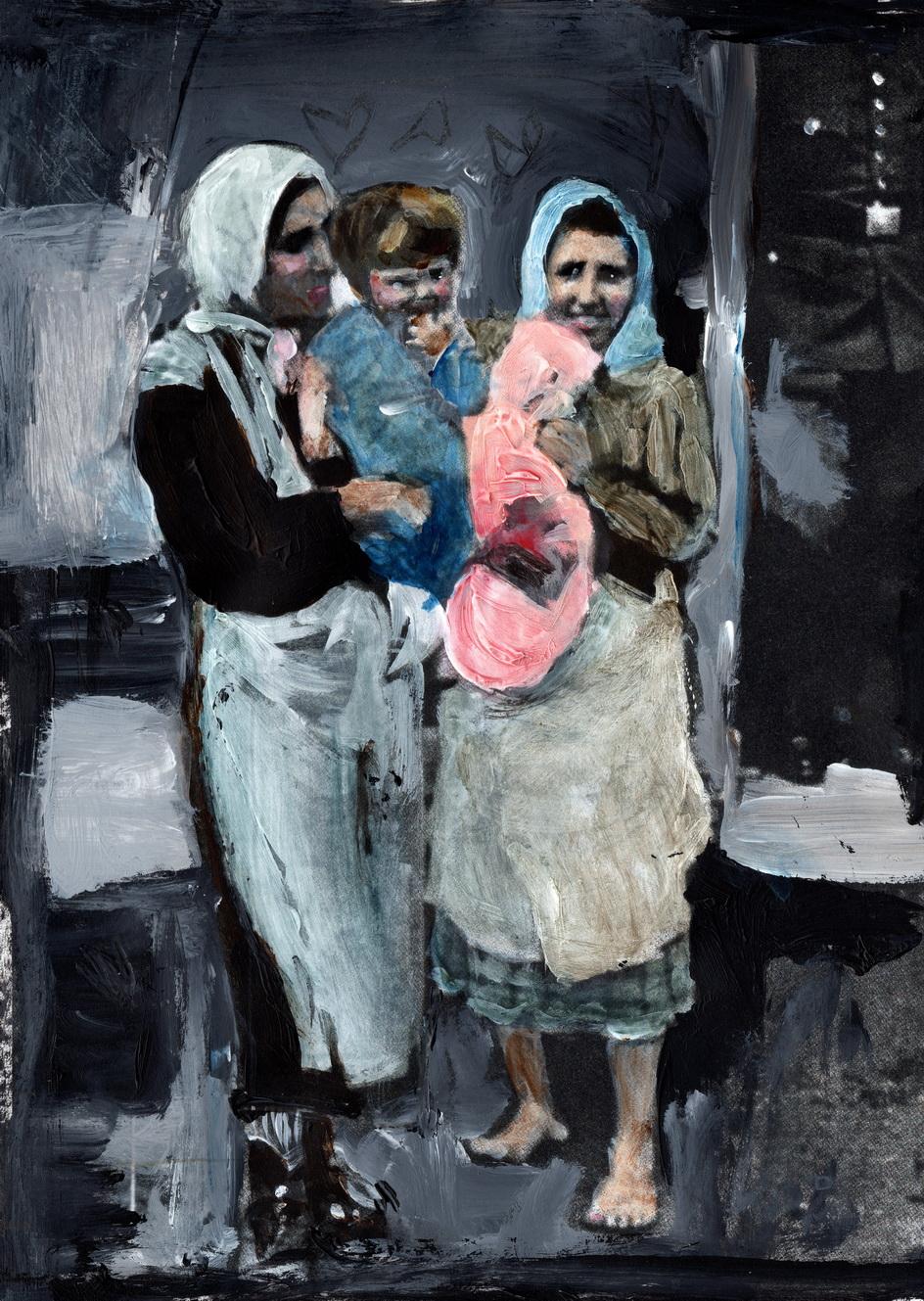 femmes avec enfants