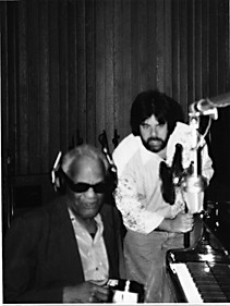 Moogzz and Ray Charles | Moogie Canazio's Photogallery