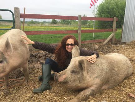 Gigi and her friends