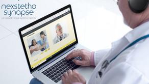 遠隔聴診も可能なオンライン診療システム「ネクステート・シナプス」をリリース