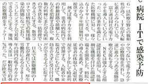 6月7日 日本経済新聞朝刊7面にネクステートが取り上げられました
