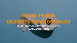 COVID-19: Wir unterstützen Selbstständige und Unternehmen