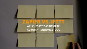 Zapier vs. IFTTT