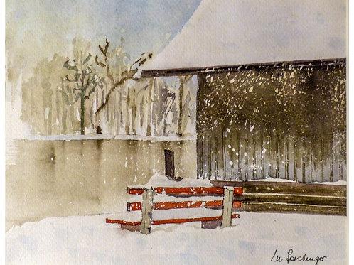 Winter am Traunsee