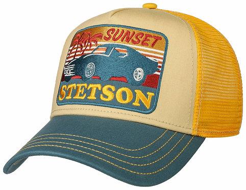 TRUCKER CAP SUNSET STETSON OSFA OSFA