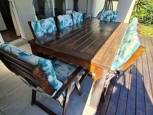 8 Seater Teak wooden Patio Set