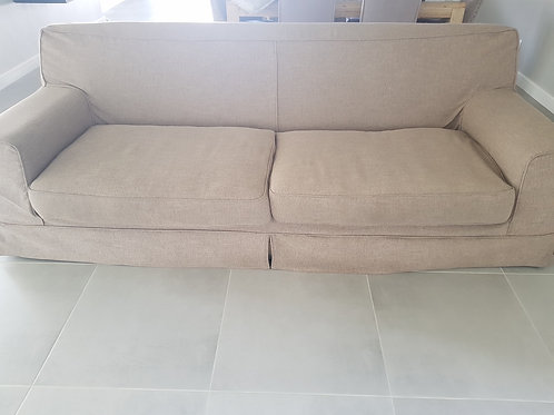 Coricraft 3-seater slip cover couch