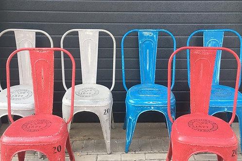 6 Aluminium chairs