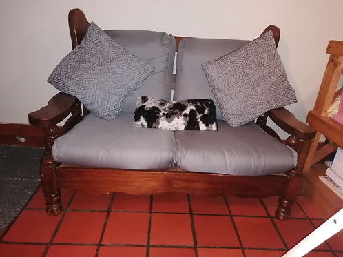 Old type antique wooden couch set