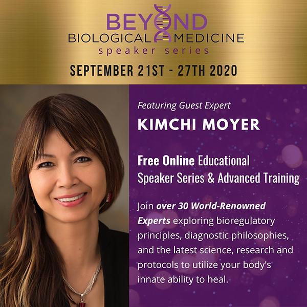 Beyond Biological Medicine Speaker Serie