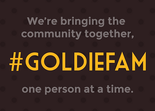#Goldiefam graphic