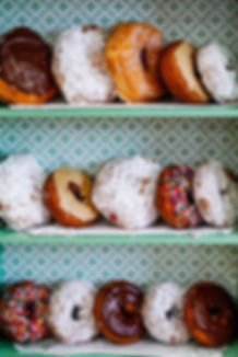 Goldie's delectable donuts