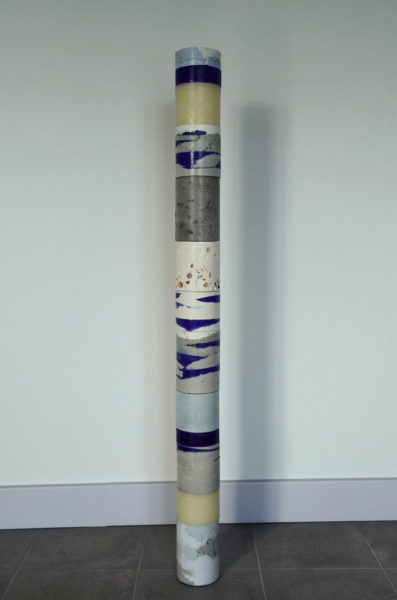Carotte n3 - 119x10,5x10,5 - cemento, es