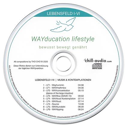 Audio CD - Lebensfeld 1-6