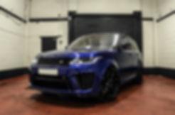Range Rover Sport SVR Hire - Sports Car Hire - Supercar Hire - Luxury Car Hire - Chauffeur Hire