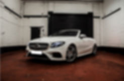 E-Class Cabriolet Hire - Sports Car Hire - Supercar Hire - Luxury Car Hire - Chauffeur Hire