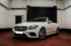 E-Class Cabriolet Hire - Sports Car Hire - Supercar Hire - Luxury Car Hire - Chauffeur Hire