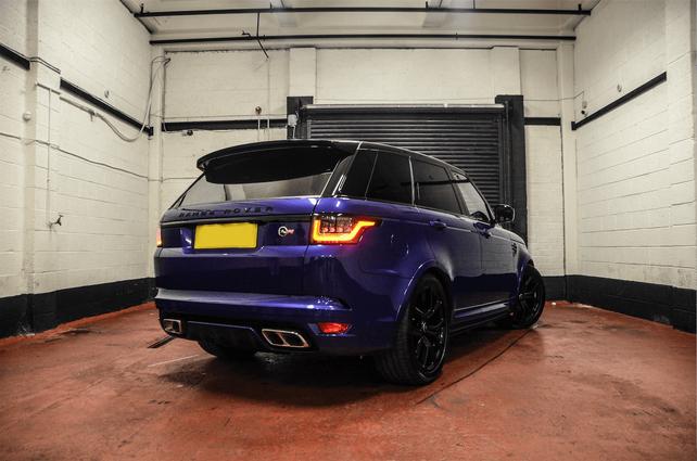 Range Rover Sport SVR Hire