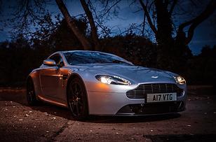 Aston Martin V8 Vantage Hire West Midlands. West Midlands Sports Car Hire