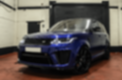 Range Rover Sport SVR Hire - Sports Car Hire - Supercar Hire - Luxury Car Hire - Chauffeur Hire