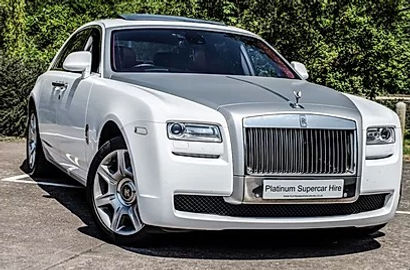 Rolls Royce Ghost Hire - Sports Car Hire - Supercar Hire - Luxury Car Hire - Chauffeur Hire