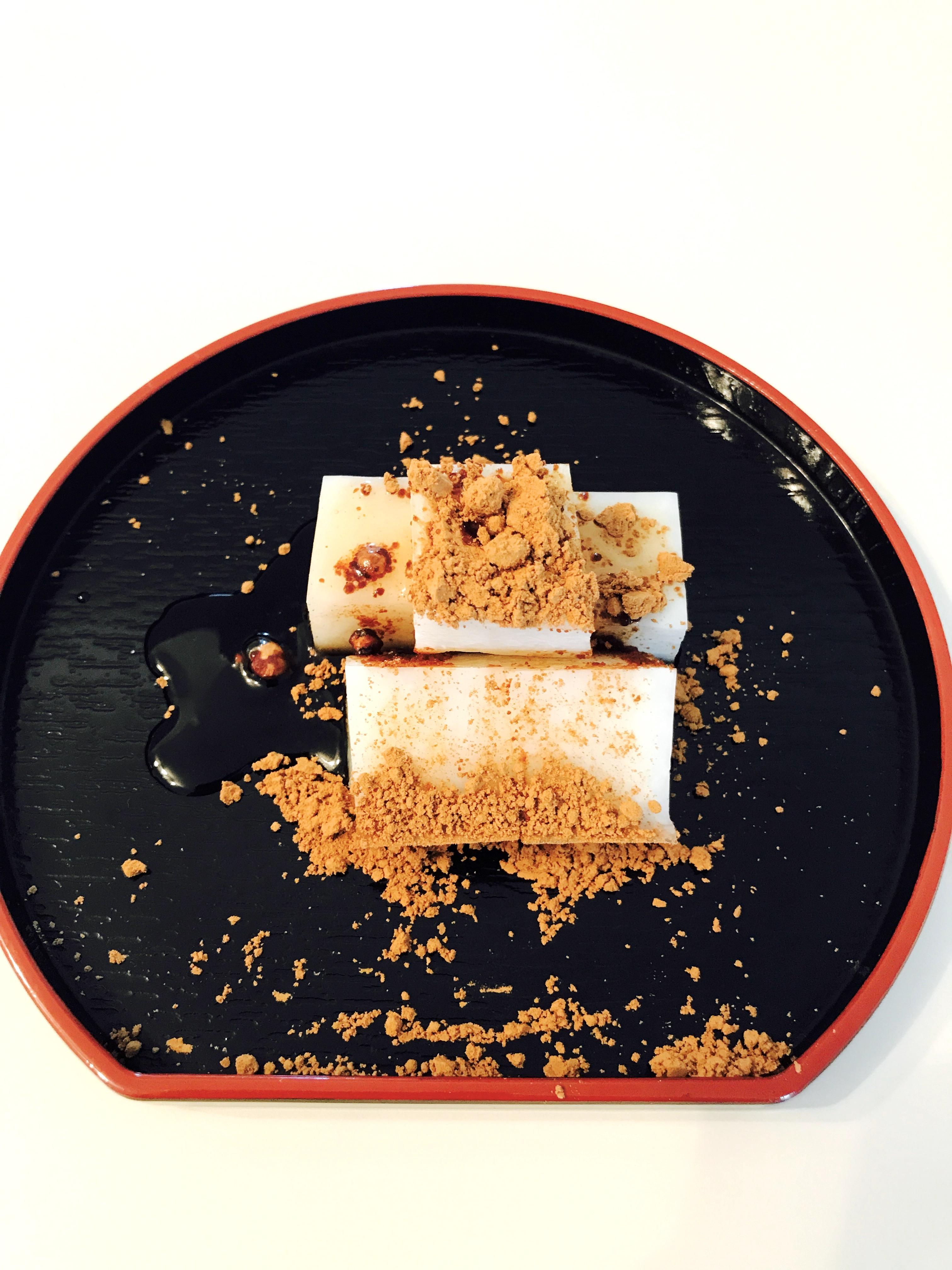 レジスタントスターチ と甘酒ときな粉を使った腸育腸活和菓子