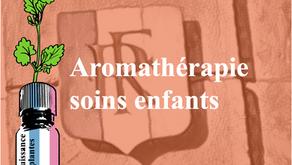 フランス式アロマテラピーキッズケアコースを開講しました。