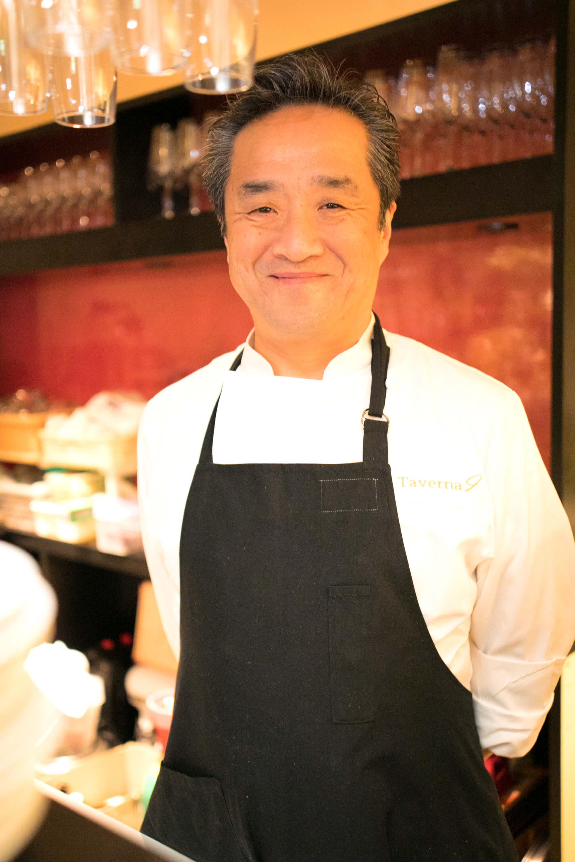日本イタリア料理協会監修腸活イタリアン・今井寿シェフ
